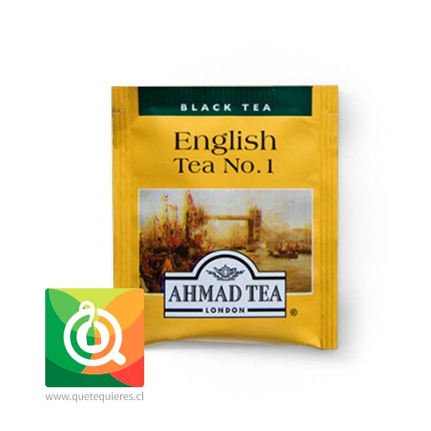 Ahmad Té Negro English N° 1 100 bolsitas- Image 2