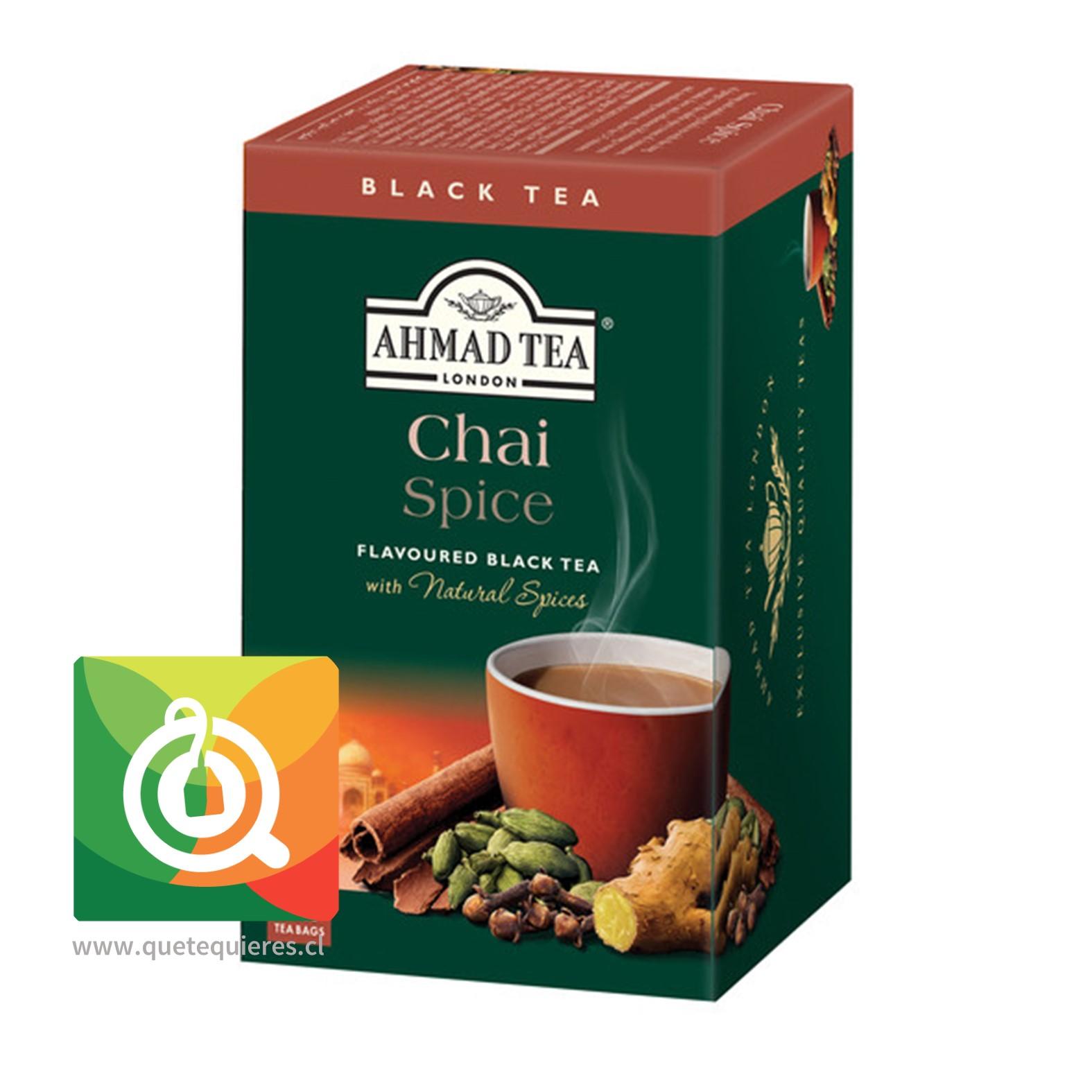 Ahmad Té Negro Spice Chai