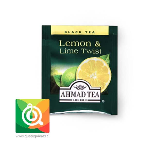 Ahmad Té Negro  Limón y Lima - Lemon & Lime Twist- Image 2
