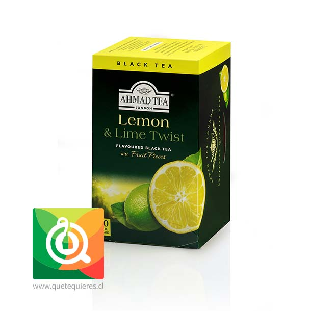 Ahmad Té Negro  Limón y Lima - Lemon & Lime Twist- Image 1