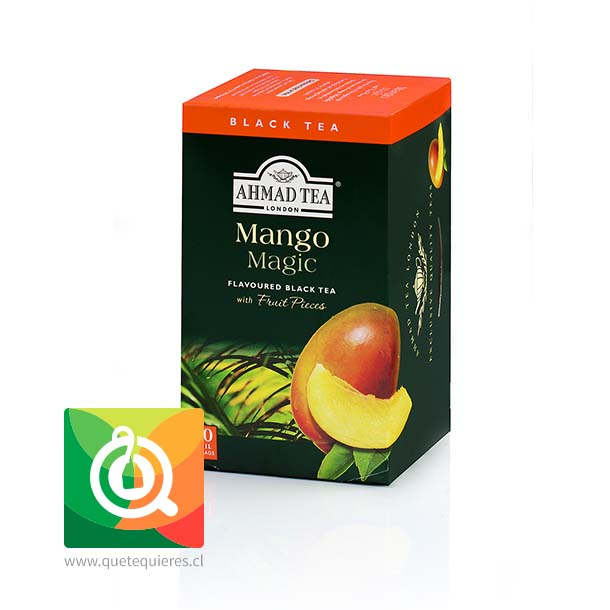 Ahmad Té Negro Mango Magic- Image 1