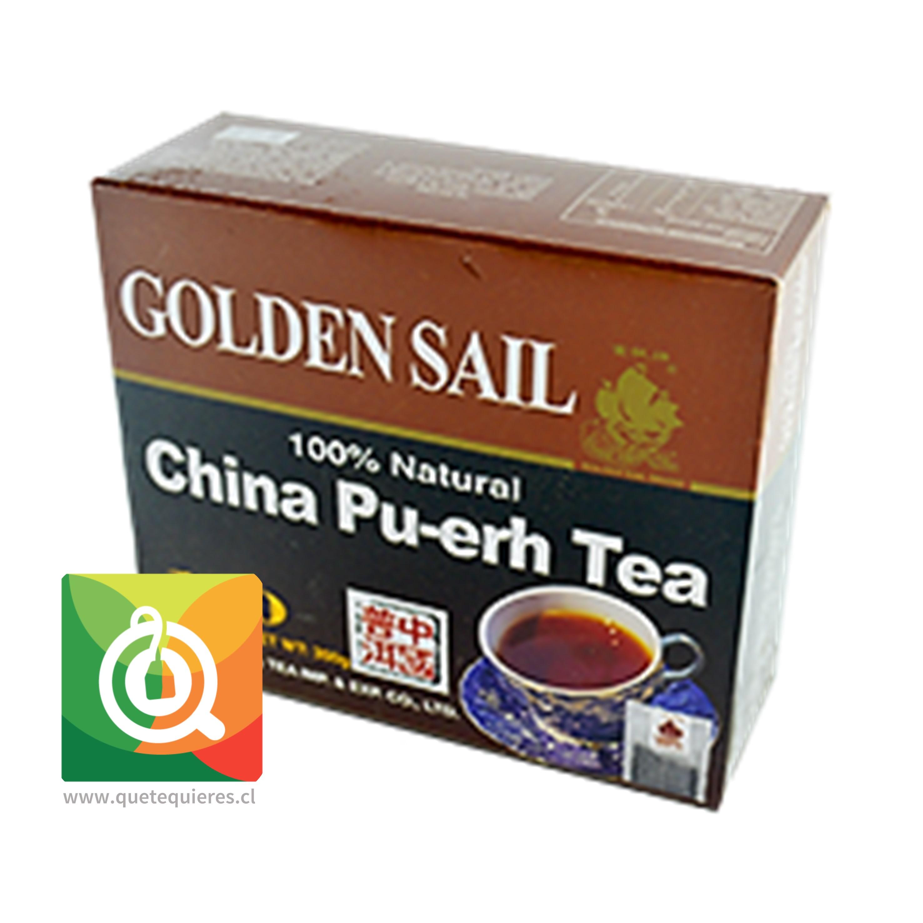 Golden Sail Té Pu-erh