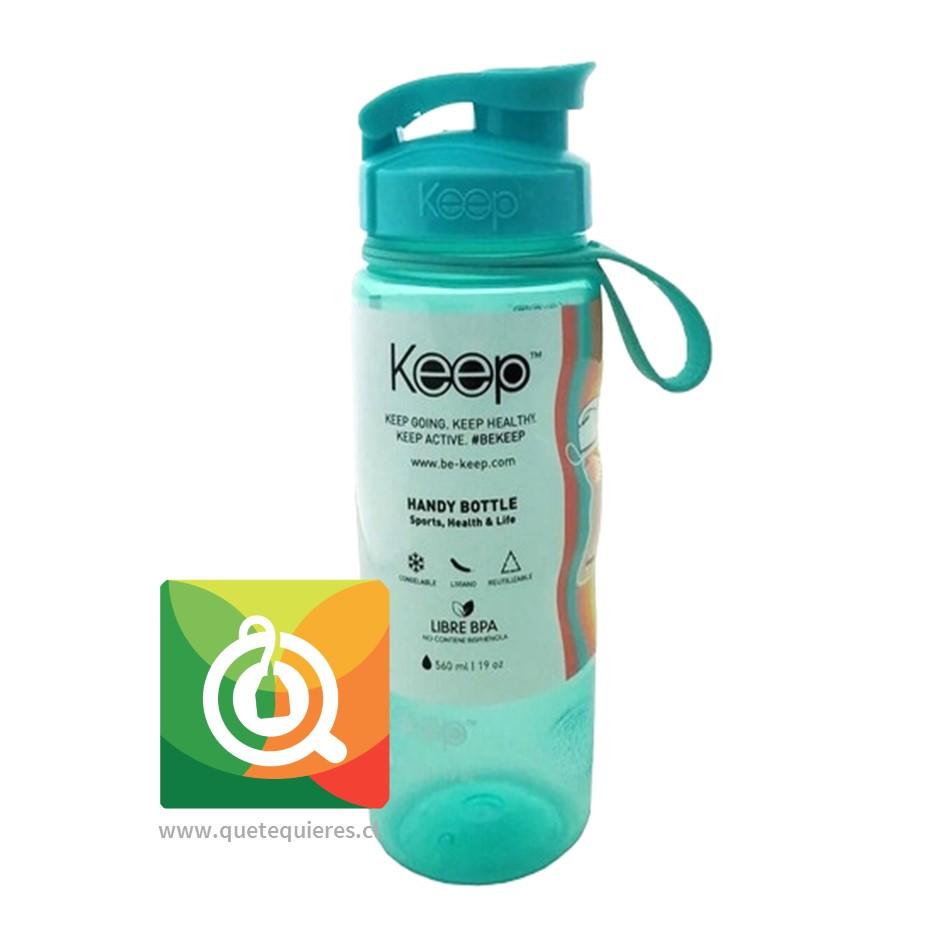 Keep Botella Anatómica Verde Agua