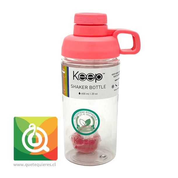 Keep Botella Shaker Fucsia
