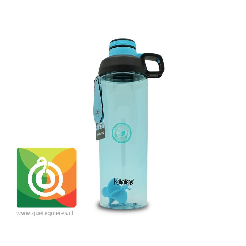 Keep Botella Shaker 800 Azul