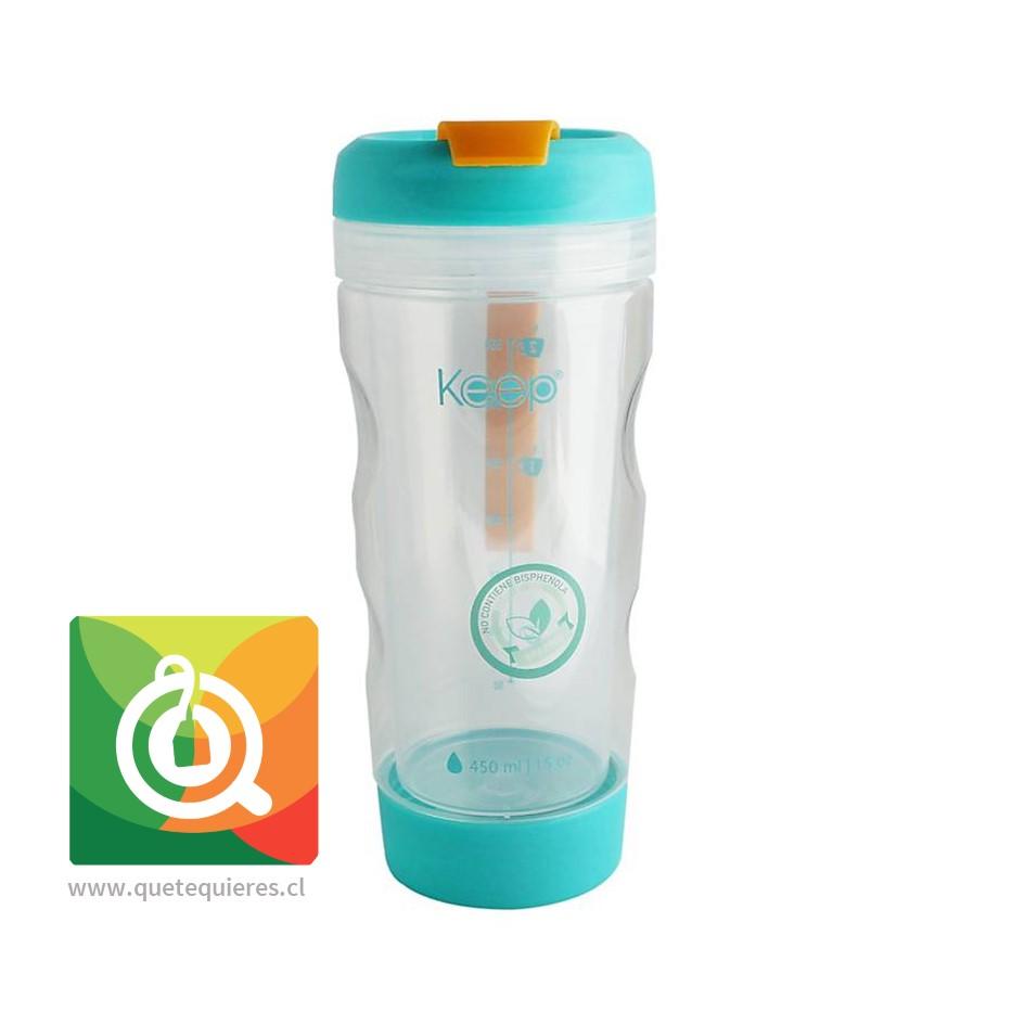 Keep Mug Infusor Para Té y Hierbas 450 ml Turquesa- Image 1