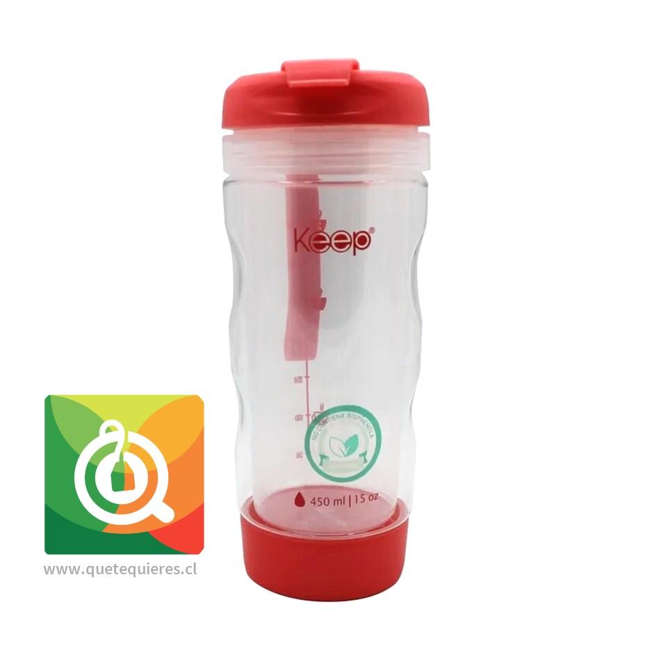 Keep Mug Infusor Para Té y Hierbas 450 ml Rosado