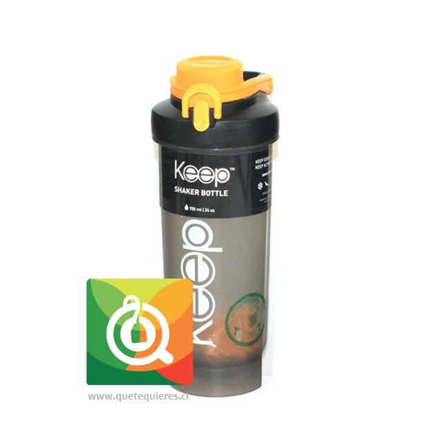 Keep Botella Shaker 700 Naranja