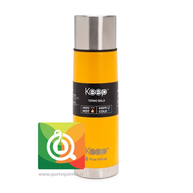 Keep Termo Bala Naranjo 500 ml- Image 1