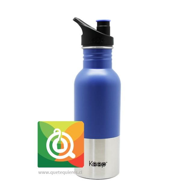 Keep Botella Acero con Pituto Morada