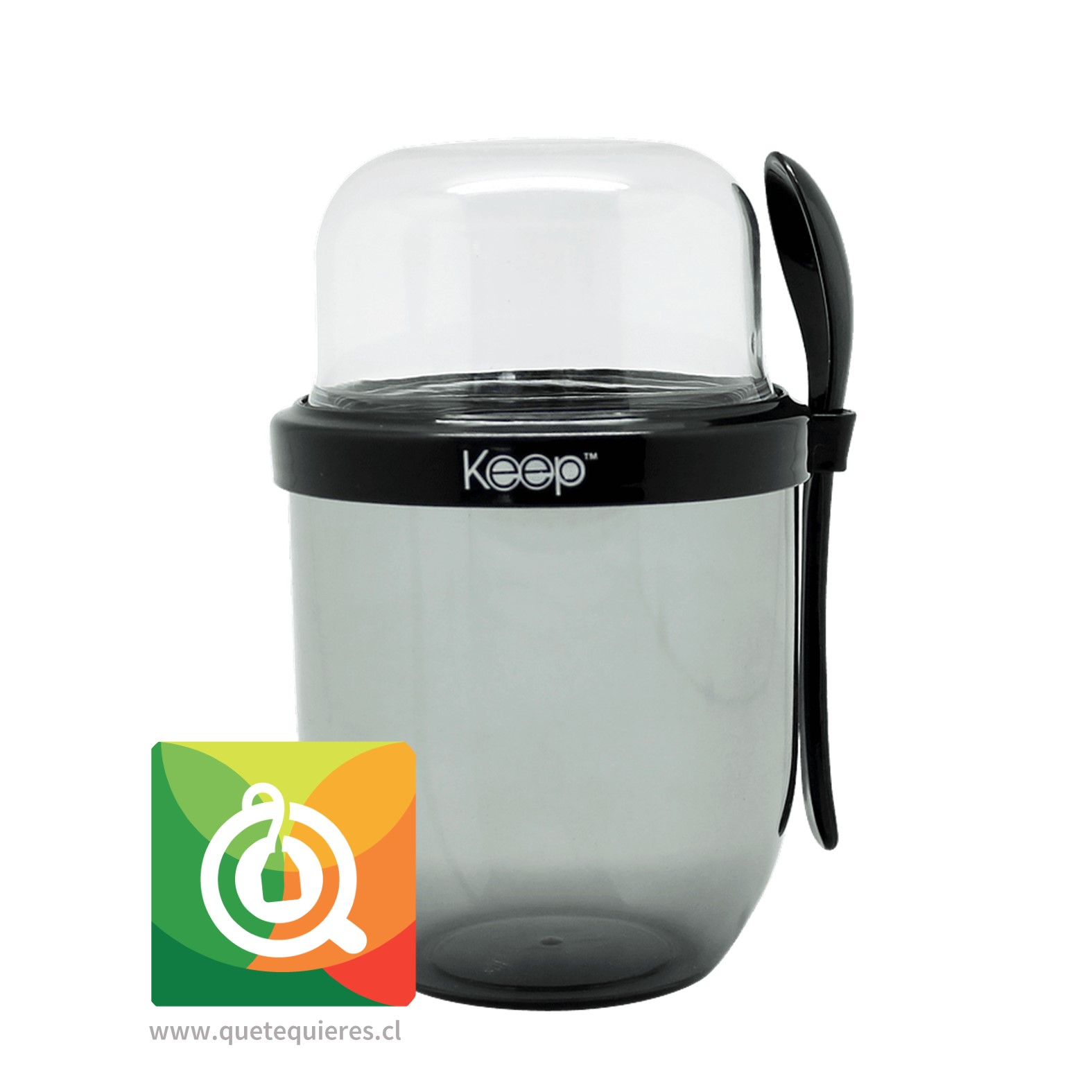 Keep Vaso Yogurt To Go II Negro