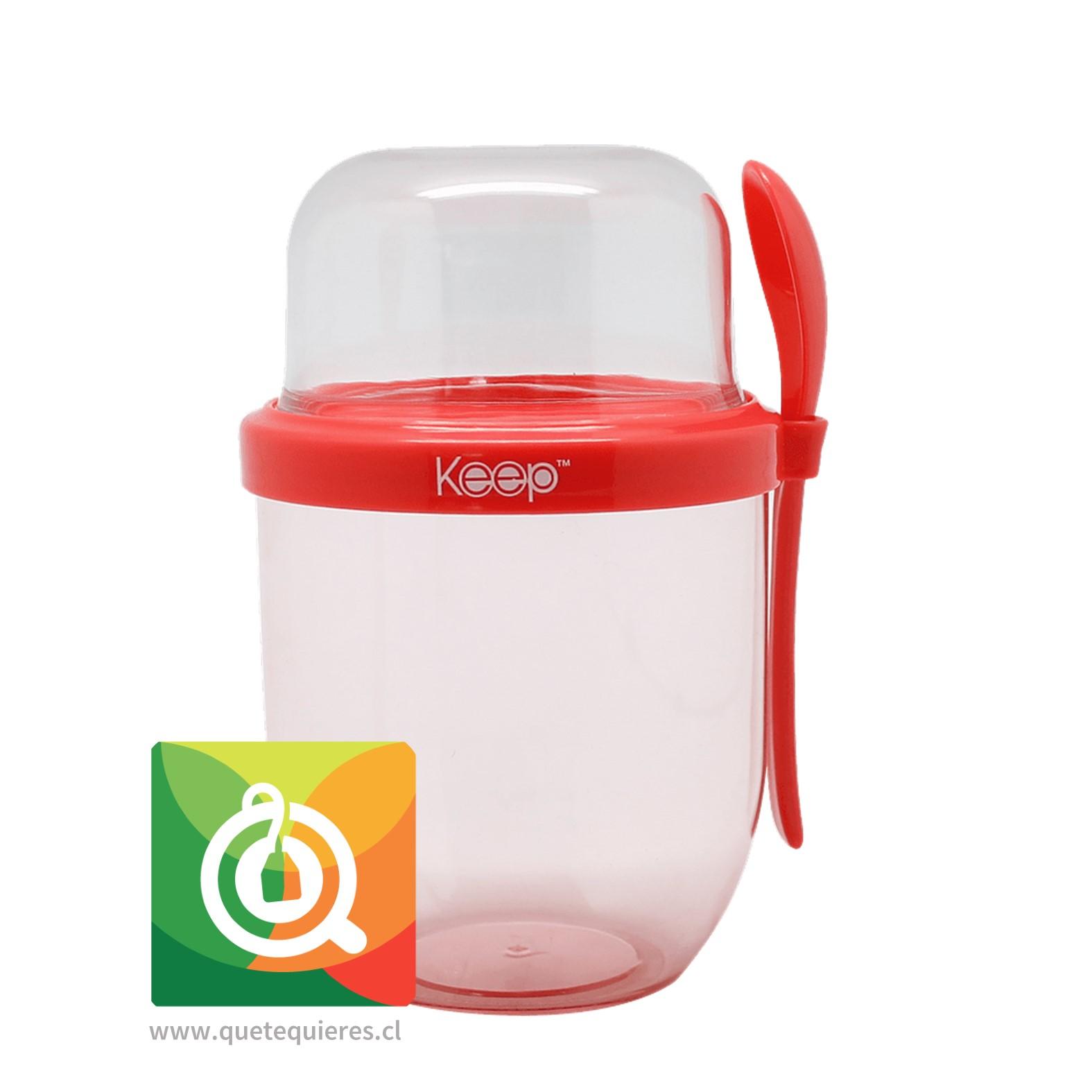 Keep Vaso Yogurt To Go II Rojo