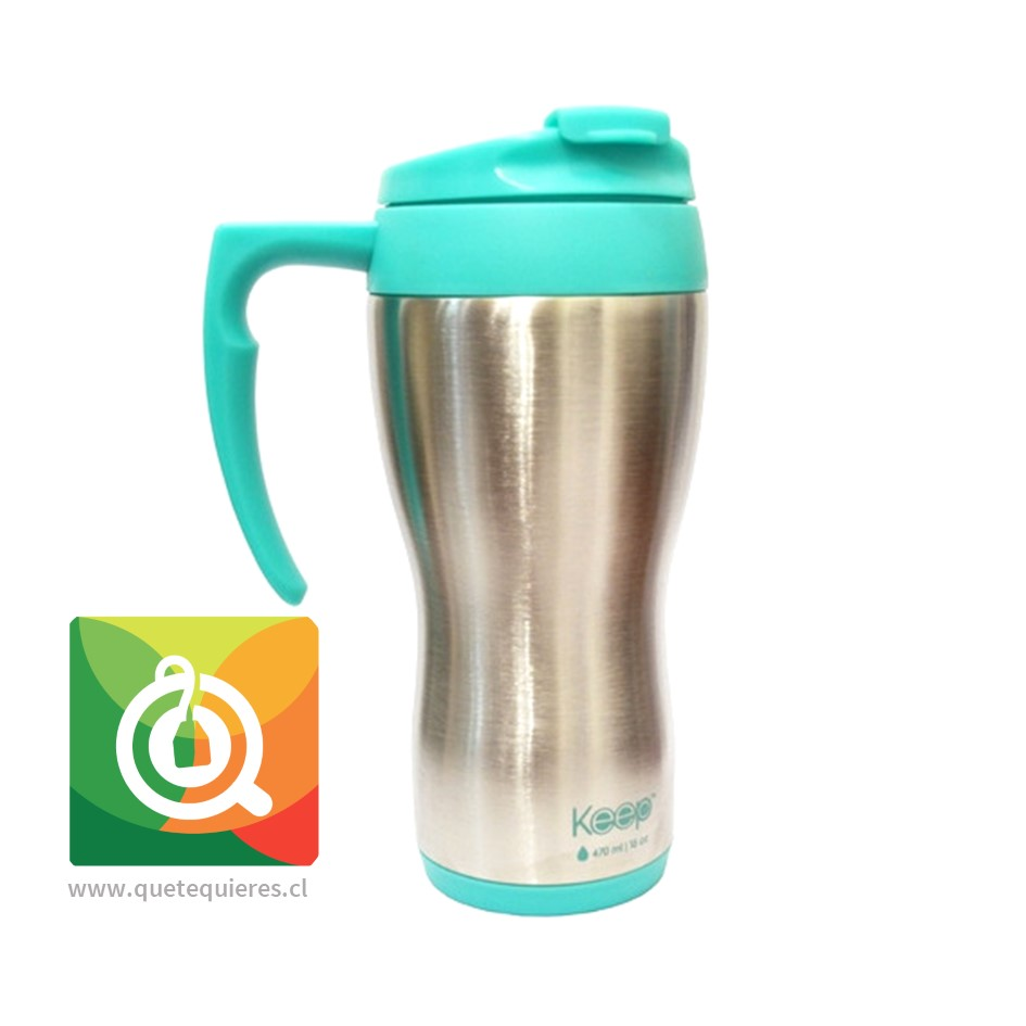 Keep Mug Térmico Tradicional Turquesa