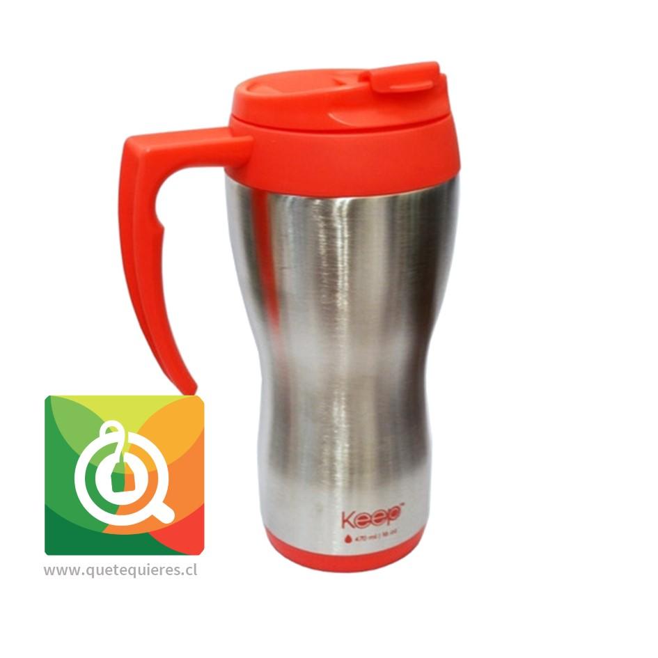 Keep Mug Térmico Tradicional Rosado