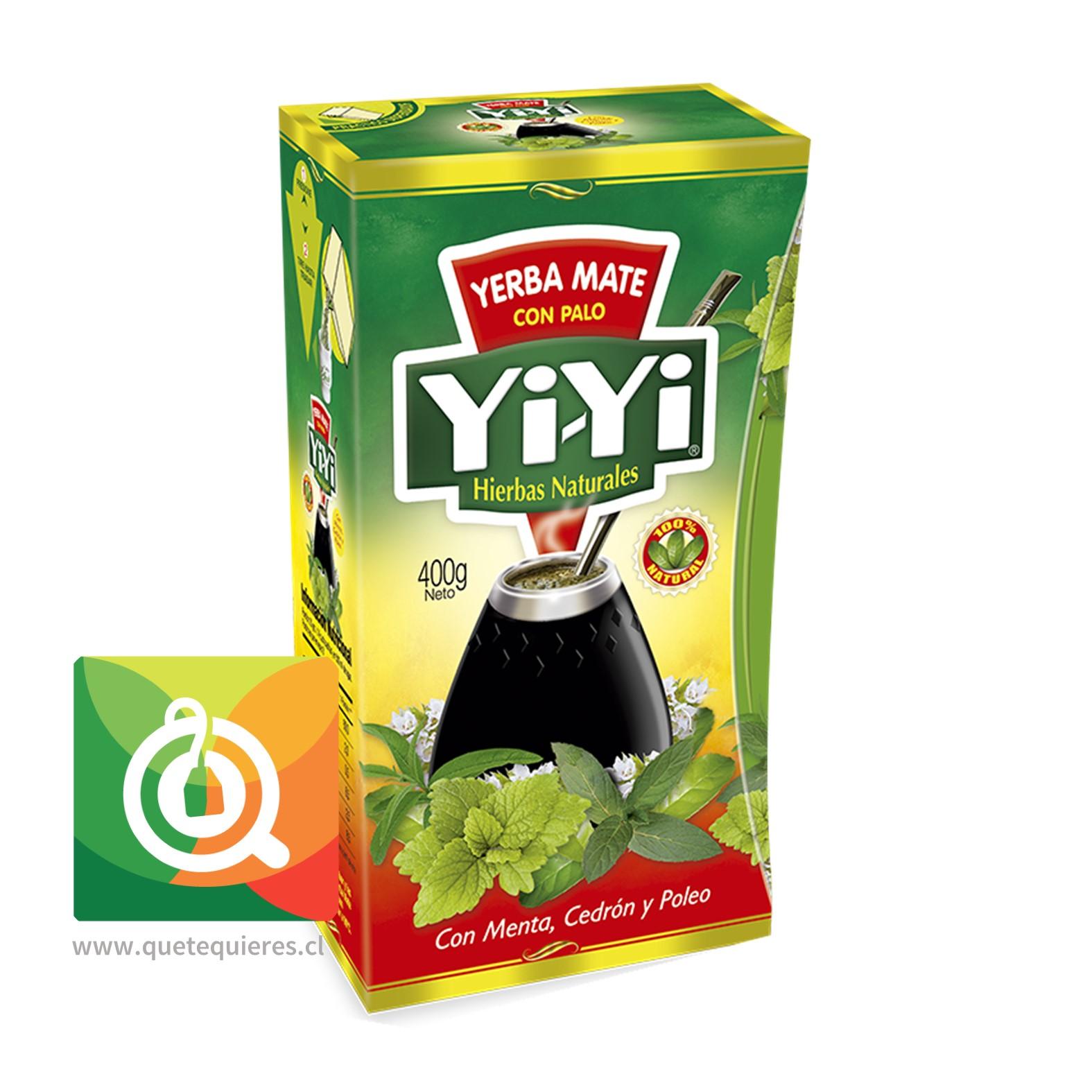 Yi-Yi Yerba Mate Compuesta Menta Cedrón y Poleo