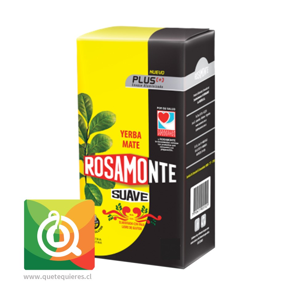Rosamonte Yerba Mate Plus Suave