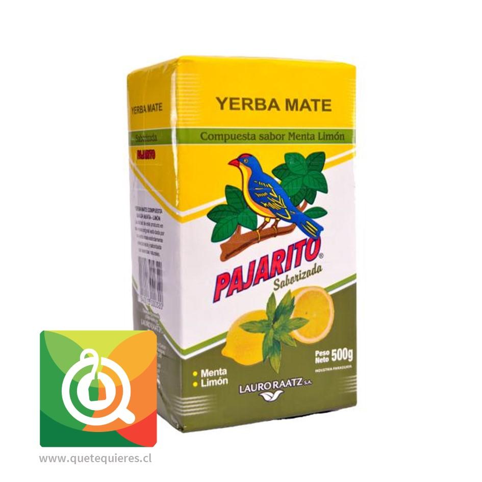 Pajarito Yerba Mate Compuesta Menta Limón