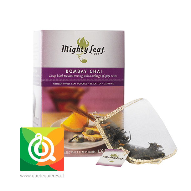 Mighty Leaf Té Negro Bombay Chai
