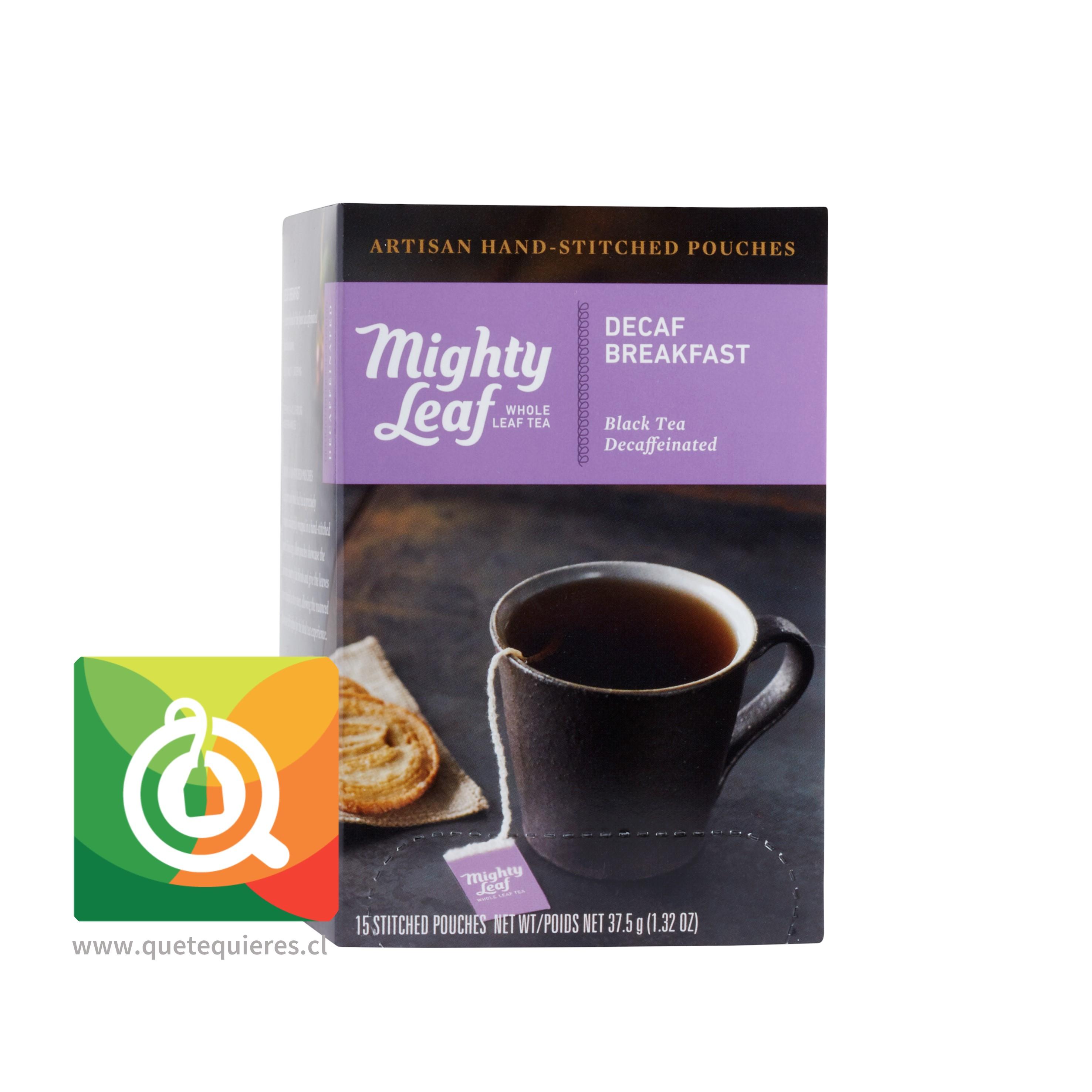 Mighty Leaf Té Negro Descafeinado - Decaf Breakfast- Image 2