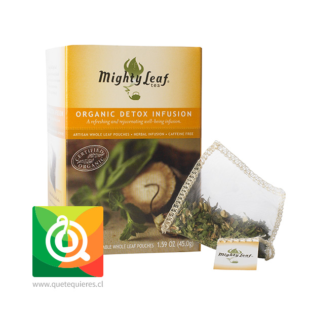 Mighty Leaf Infusión Detox Orgánica