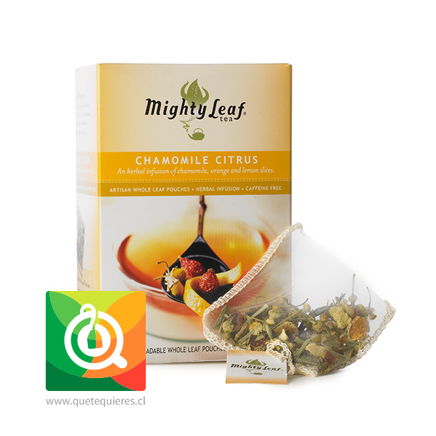 Mighty Leaf Infusión Manzanilla Citrus