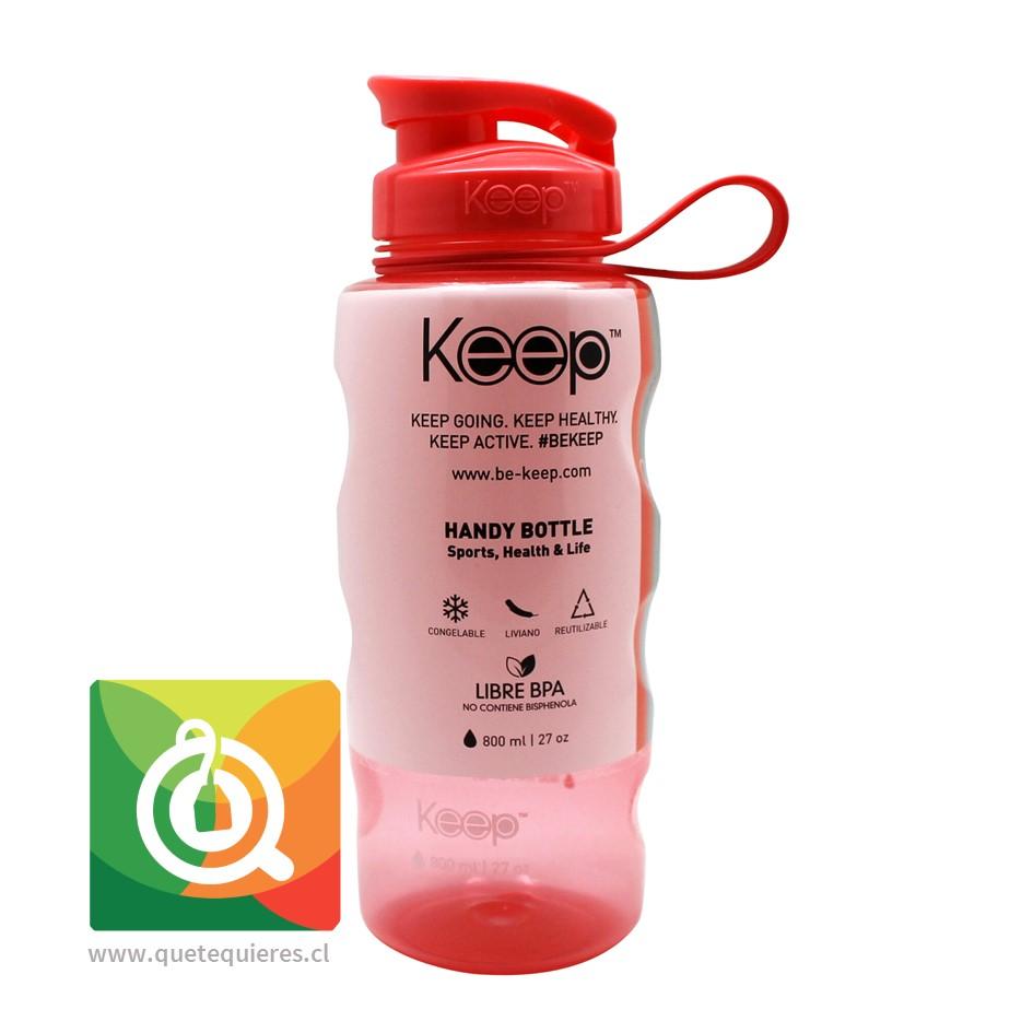 Keep Botella de agua Anatómica Fucsia 800 ml