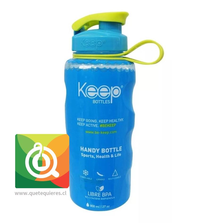 Keep Botella de agua Anatómica Turquesa- Image 1