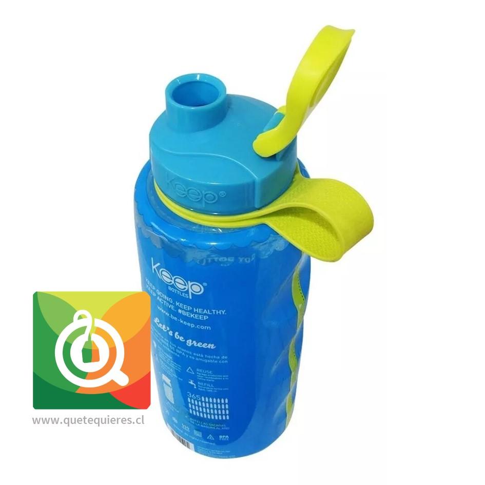 Keep Botella de agua Anatómica Turquesa- Image 2