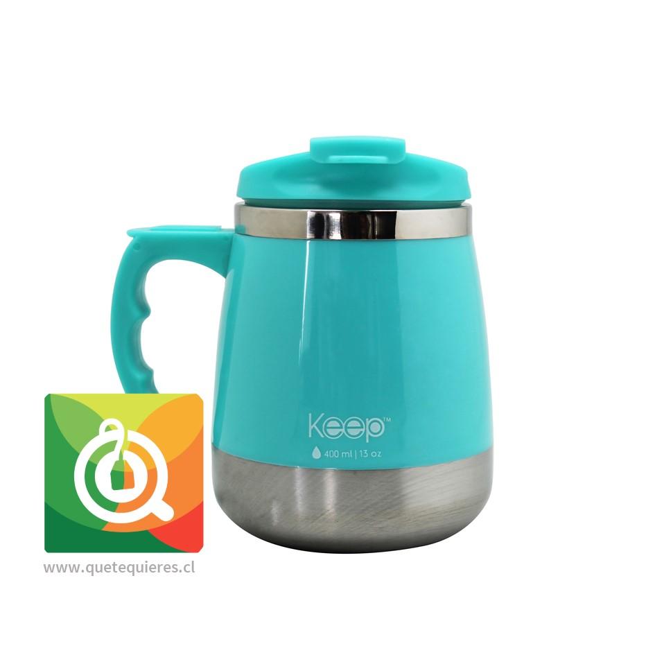Keep Mug Taza Outdoor 400 ml Turquesa