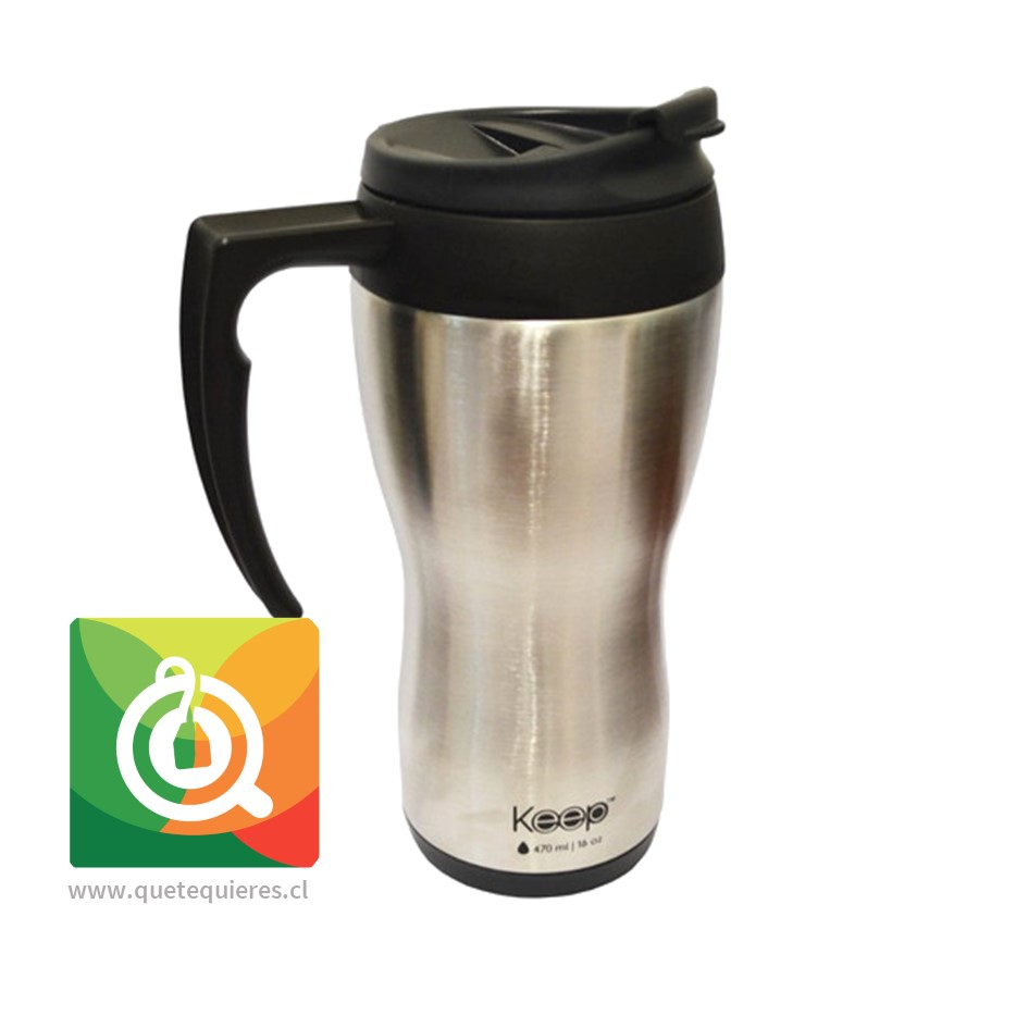 Keep Mug Clasico 400 ml Negro