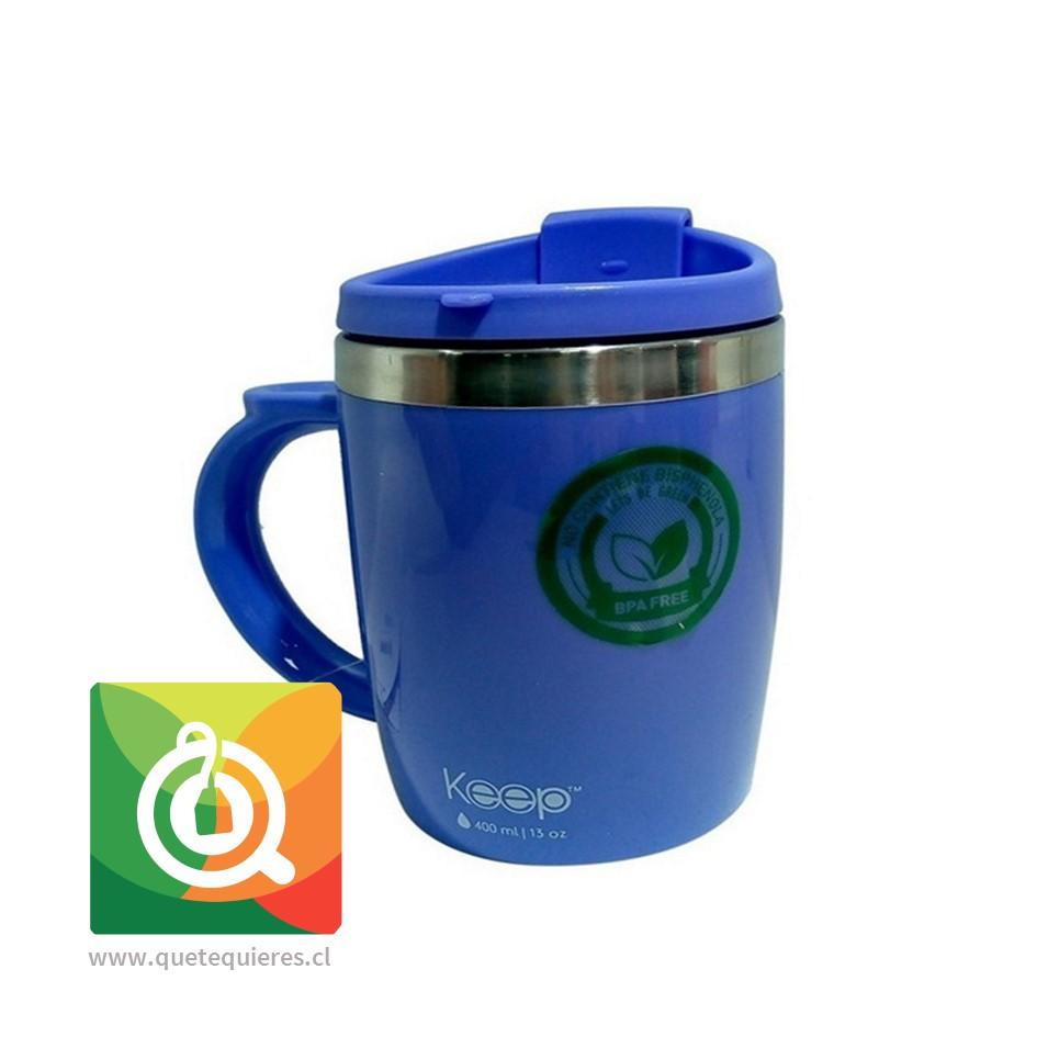 Keep Mug Taza Outdoor 400 ml Morada