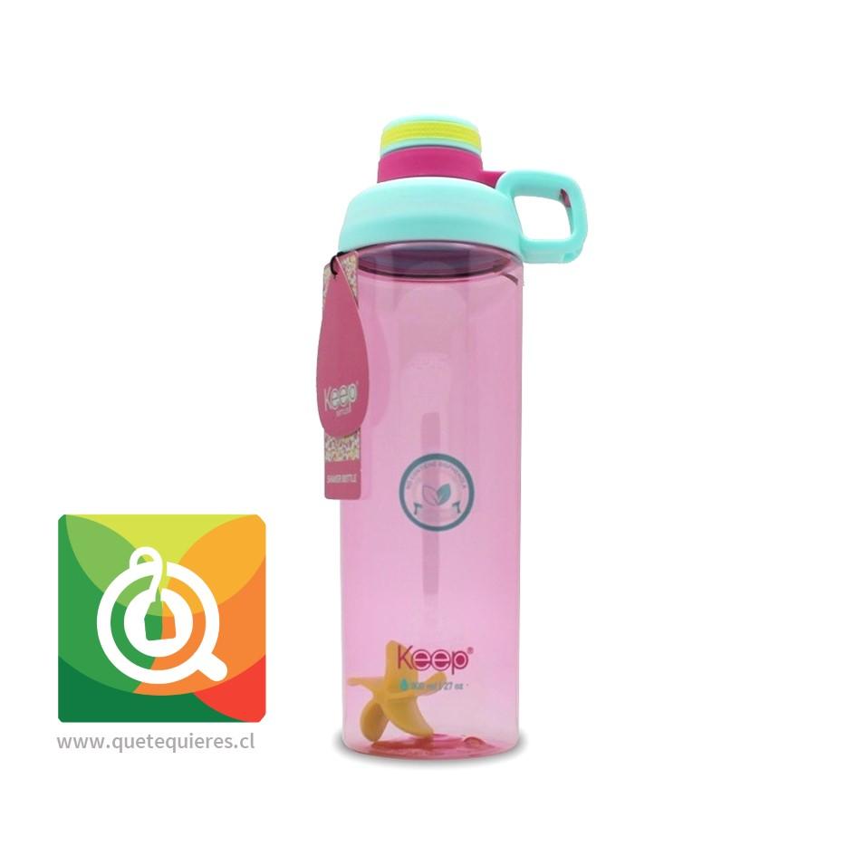 Keep Botella Shaker 800 Verde Agua