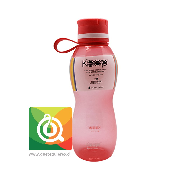 Keep Botella de agua Value Fucsia
