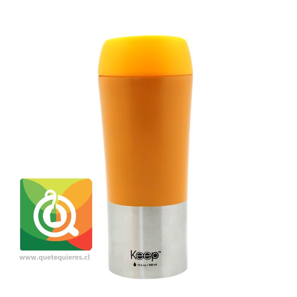 Keep Mug On The Go 400 ml Naranjo
