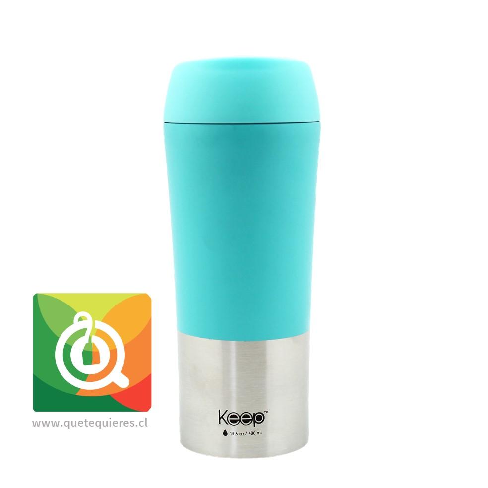 Keep Mug On The Go 400 ml Turqueza