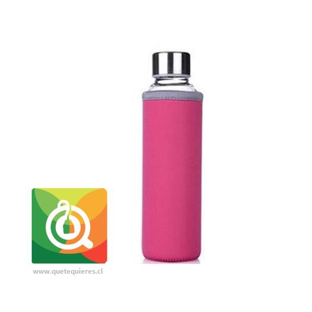 Botella Infusora con funda 500 ml Fucsia- Image 1