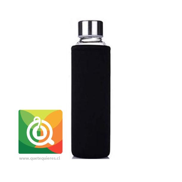 Botella Infusora con funda 500 ml Negra- Image 1