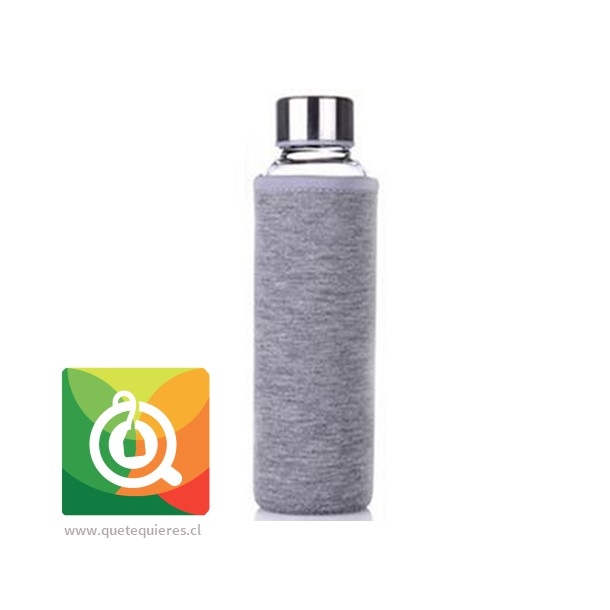 Botella Infusora con funda 500 ml Gris- Image 1