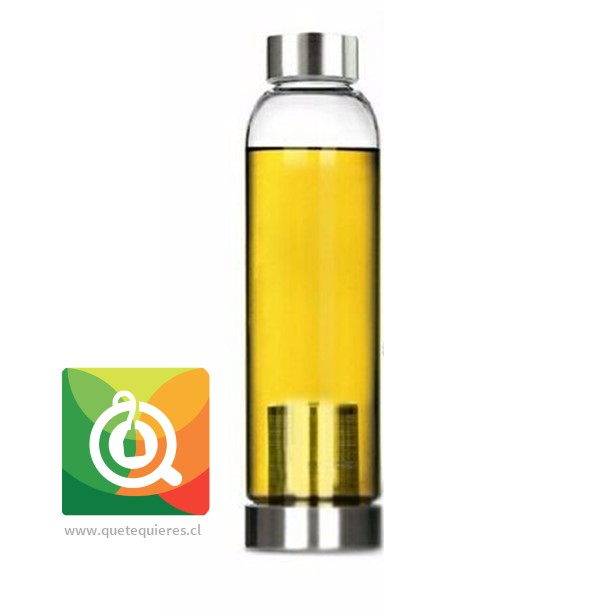 Botella Infusora con funda 500 ml Gris- Image 2