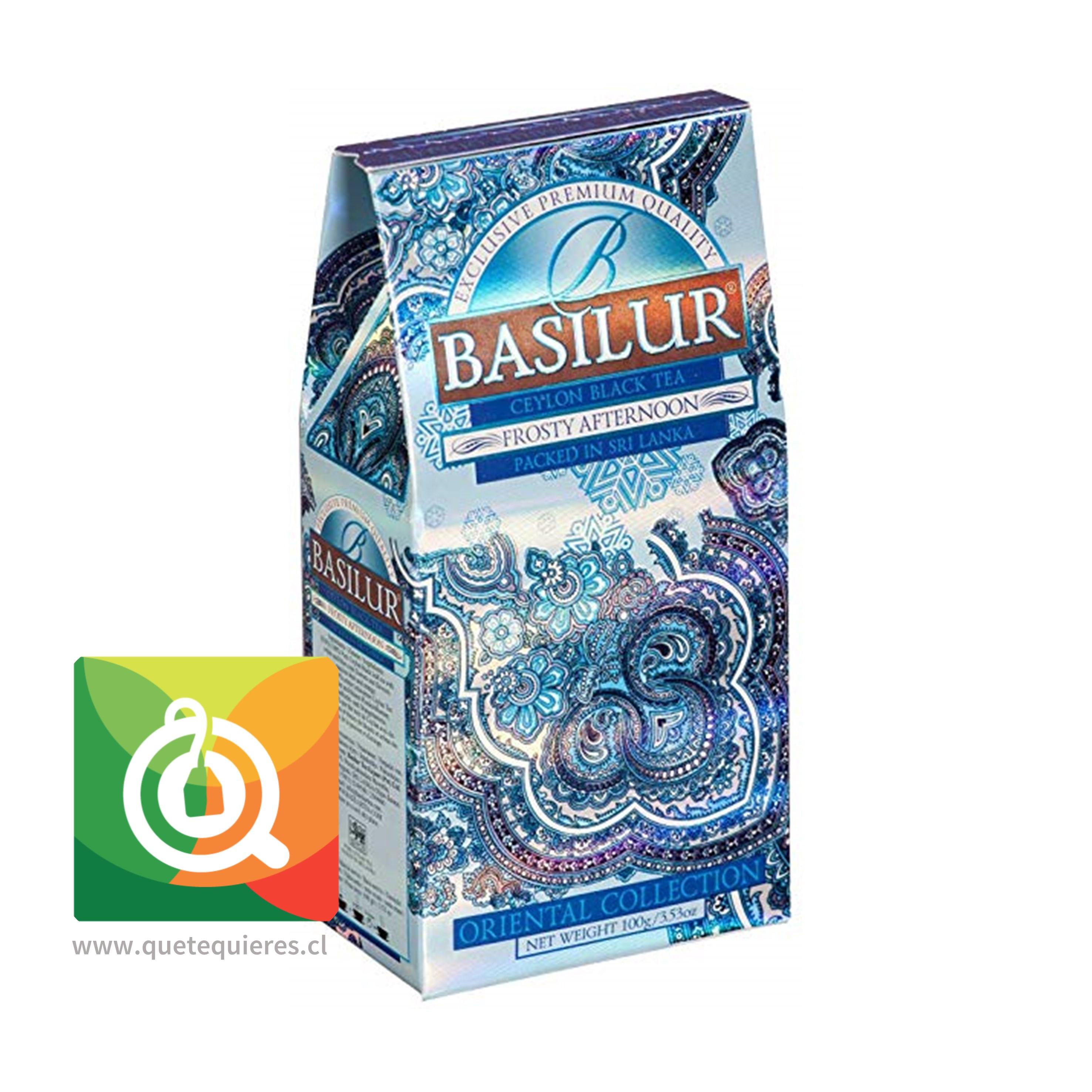 Basilur Té Negro Frosty Afternoon - Ceylon Black Tea Frosty Afternoon- Image 1