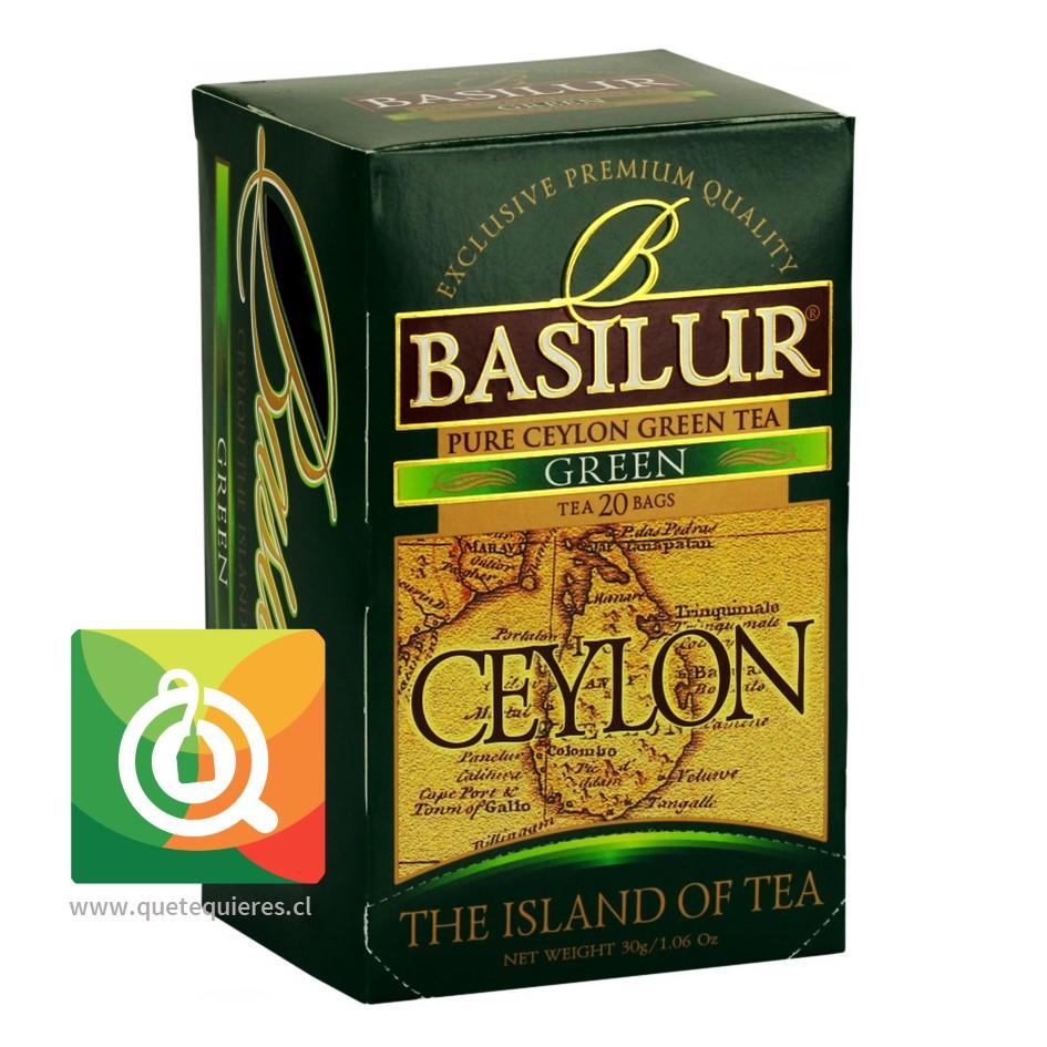 Basilur Té Verde Caylon - The Island Of Tea