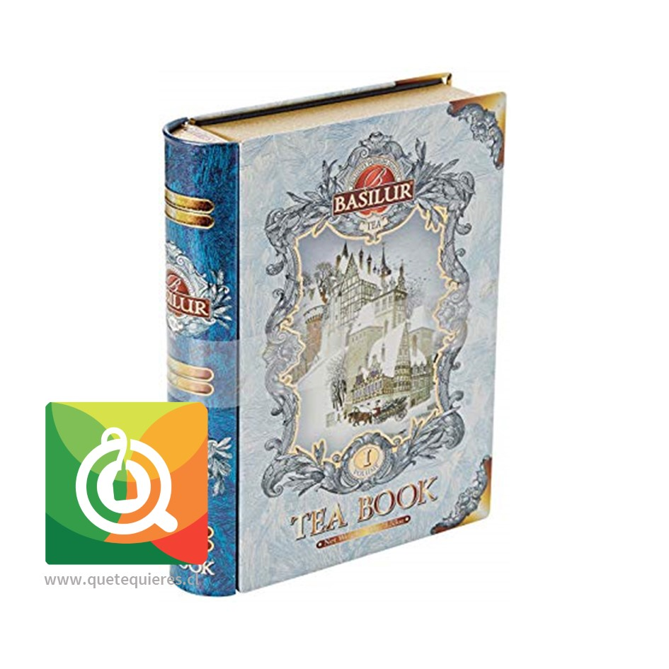 Basilur Libro Té Negro Volumen 1 -Tea Book Assorted- Image 1