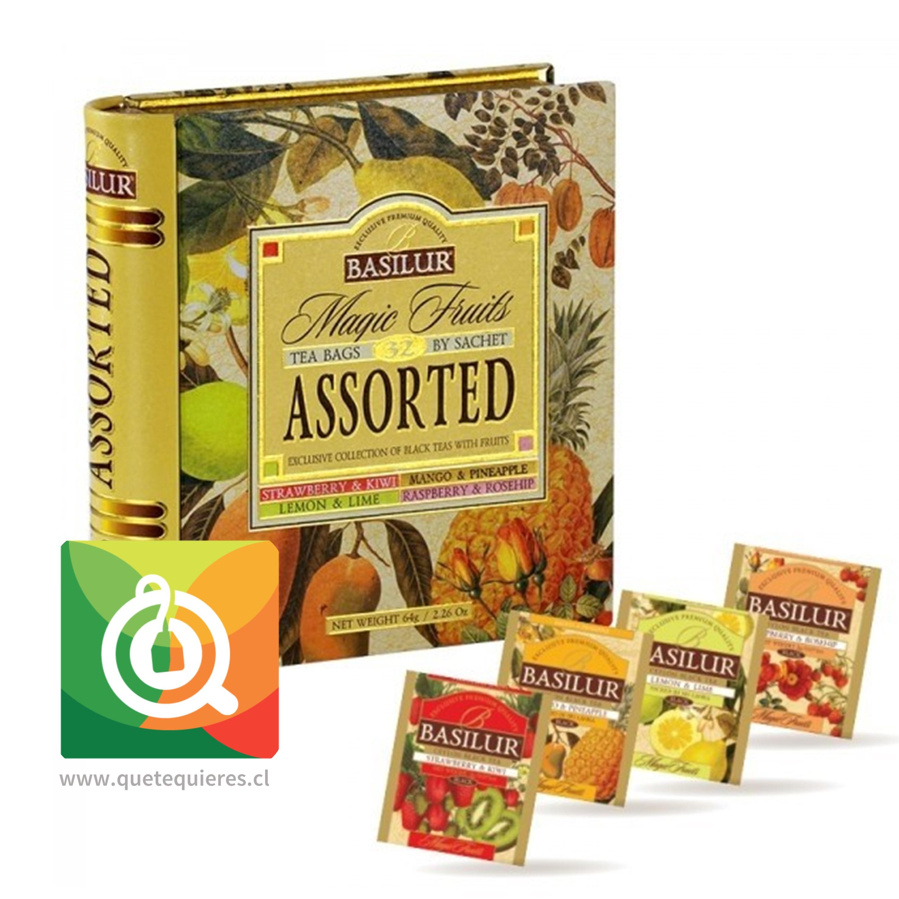 Basilur Libro Té Surtido Té Negro y Frutas - Magic Fruit Tea Book Assorted- Image 2