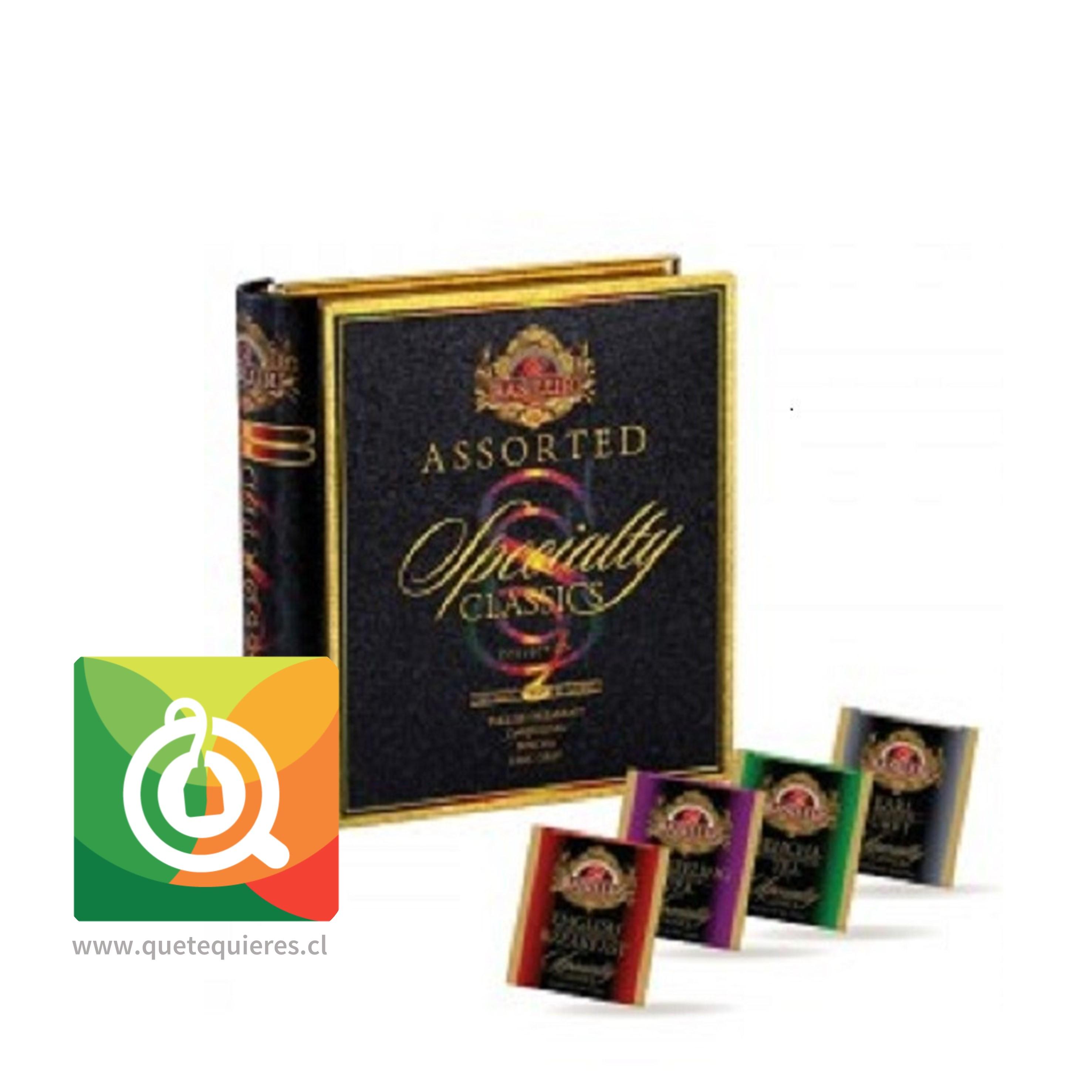 Basilur Libro Té Surtido Té Negro Clasico - Specialty Classics Tea Book Assorted- Image 2