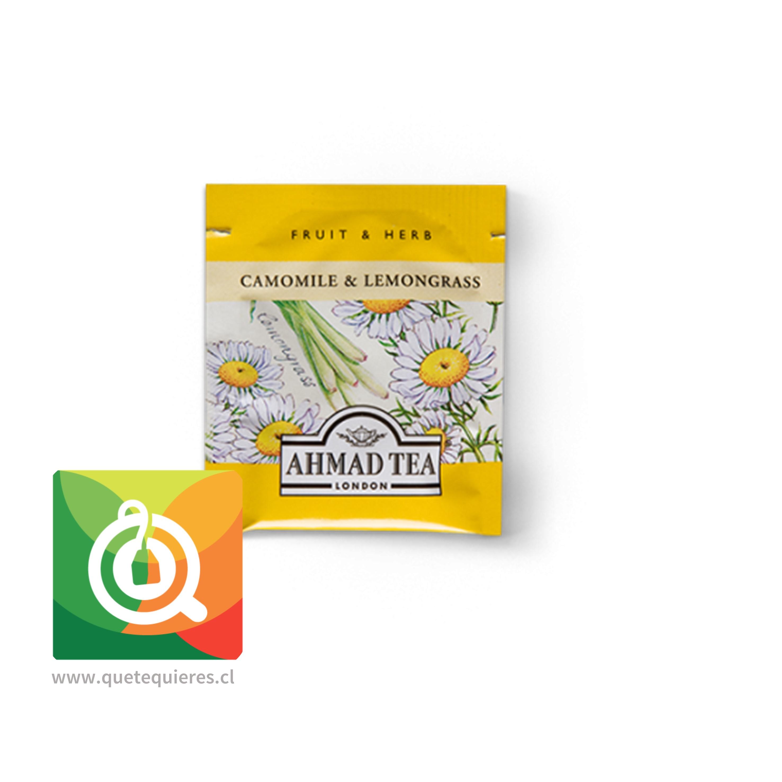 Ahmad infusion Camomile & Lemongrass Relax - Infusión de Manzanilla y Hierbalimón- Image 2