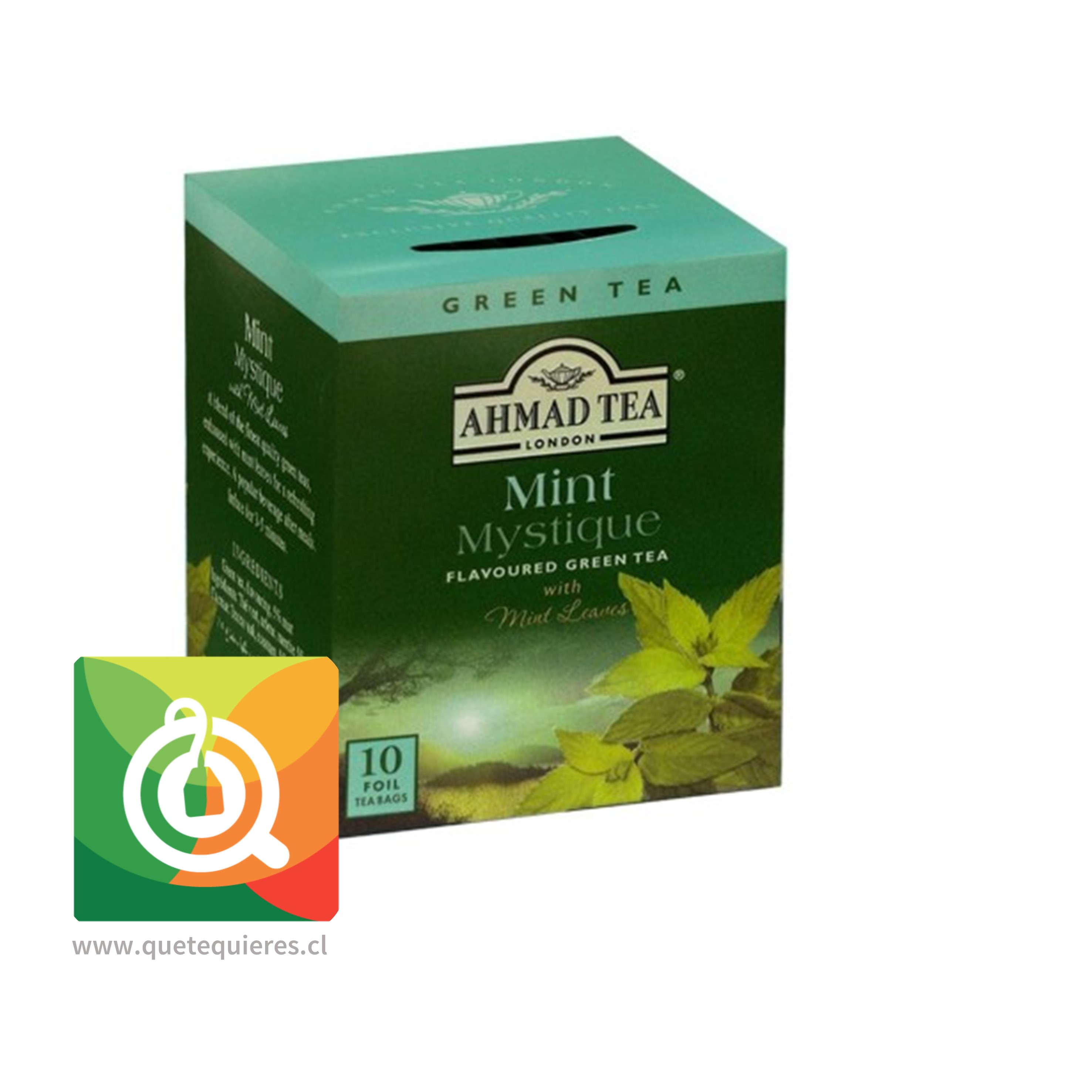 Ahmad Green Tea Mint Mystique- Té Verde Menta