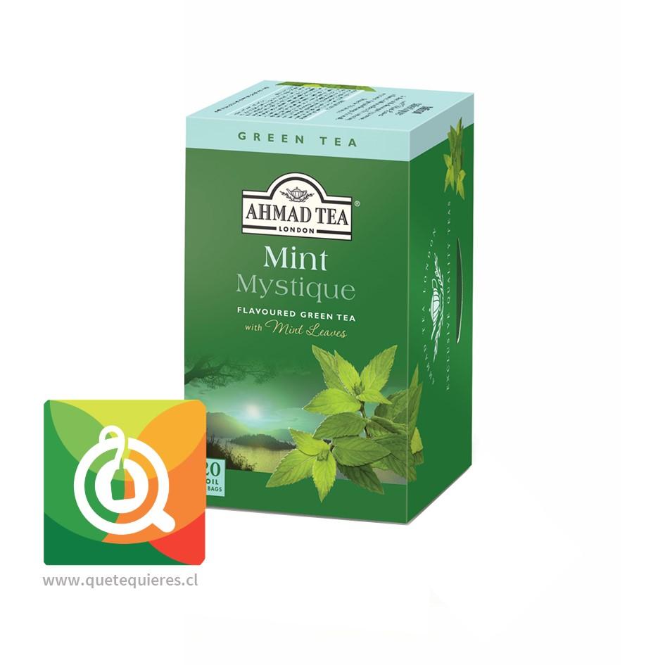 Ahmad Green Tea Mint Mystique- Té Verde Menta 20