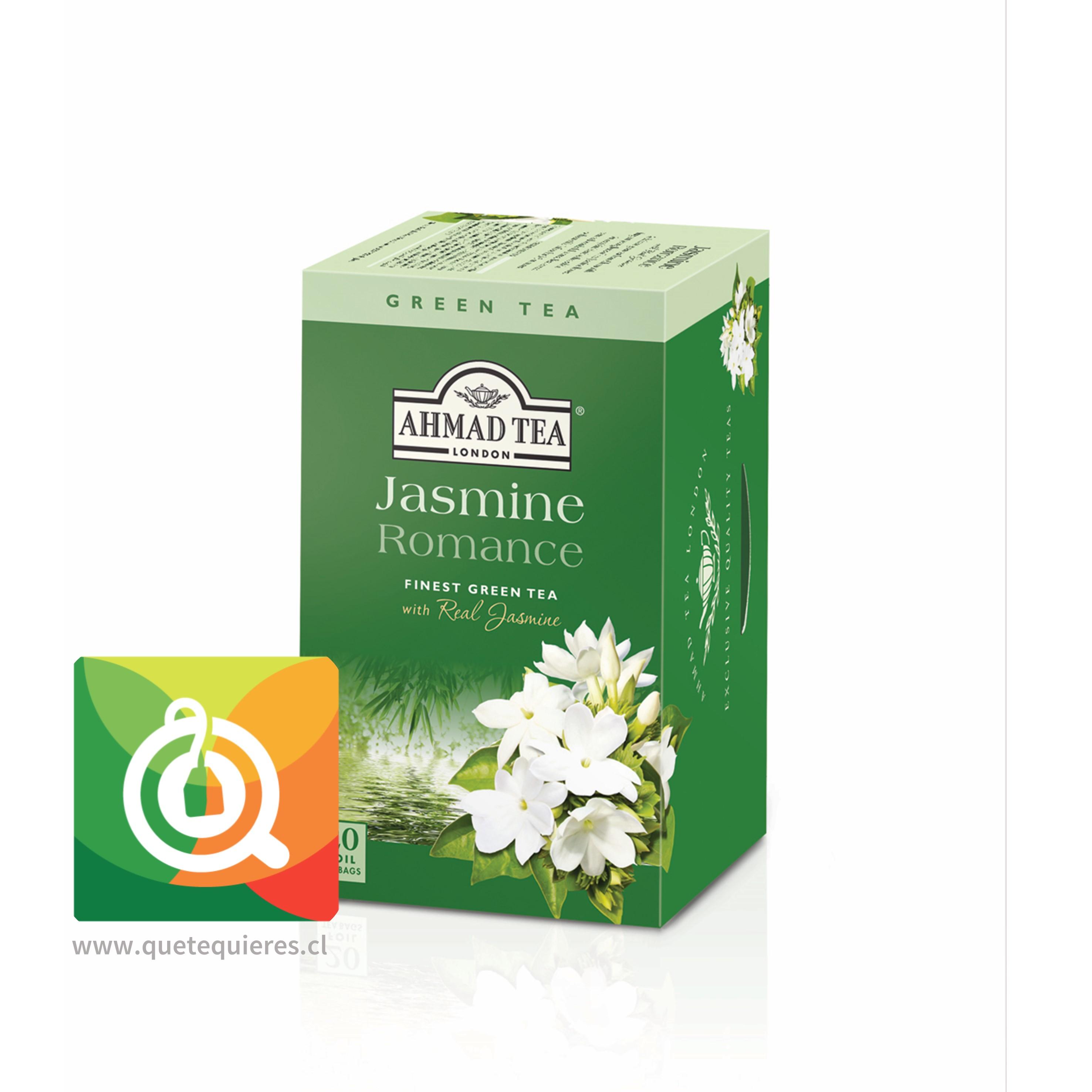 Ahmad Green Tea Jasmine Romance - Té Verde Jazmín