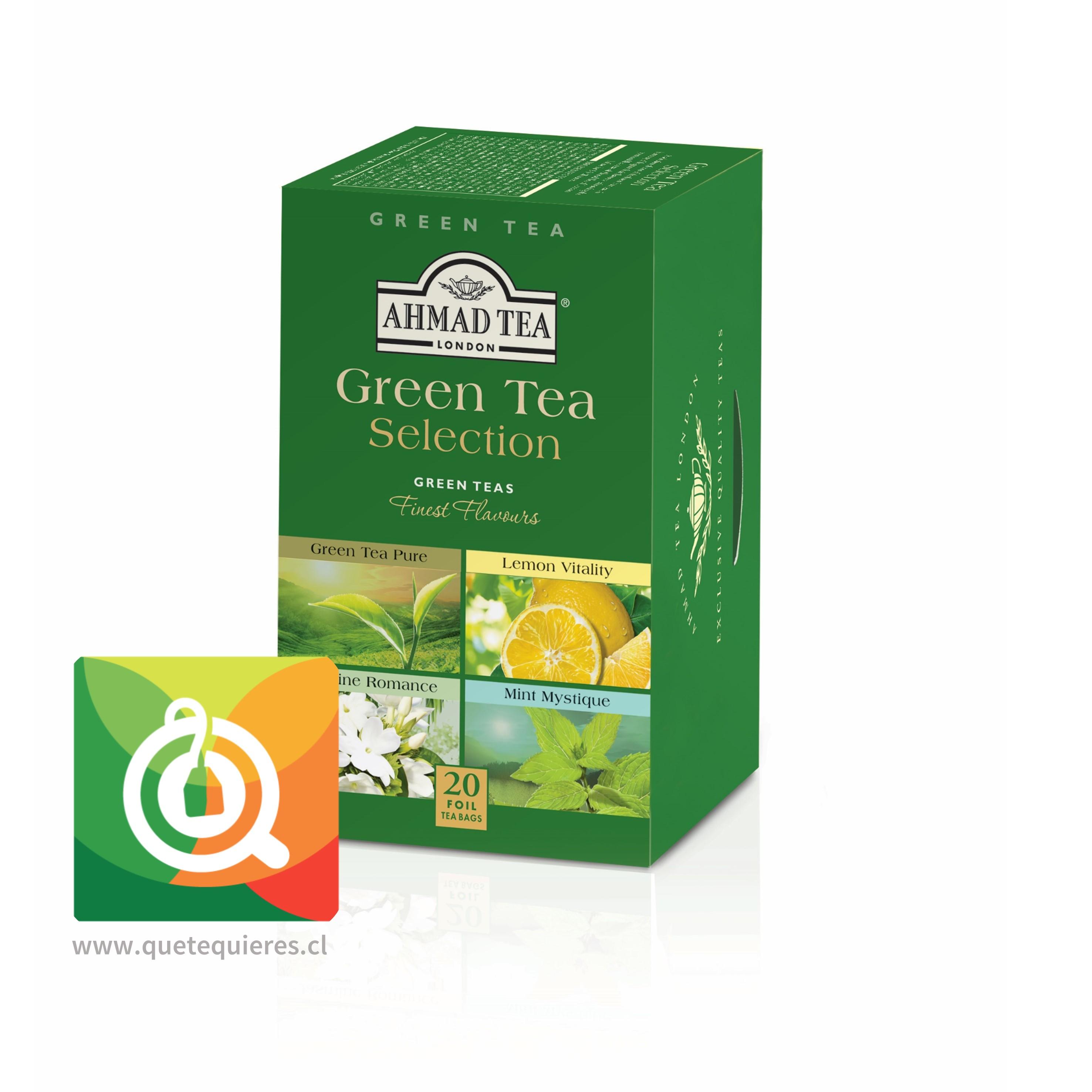 Ahmad Té Verde Green Selenction - Surtido Tés Verdes