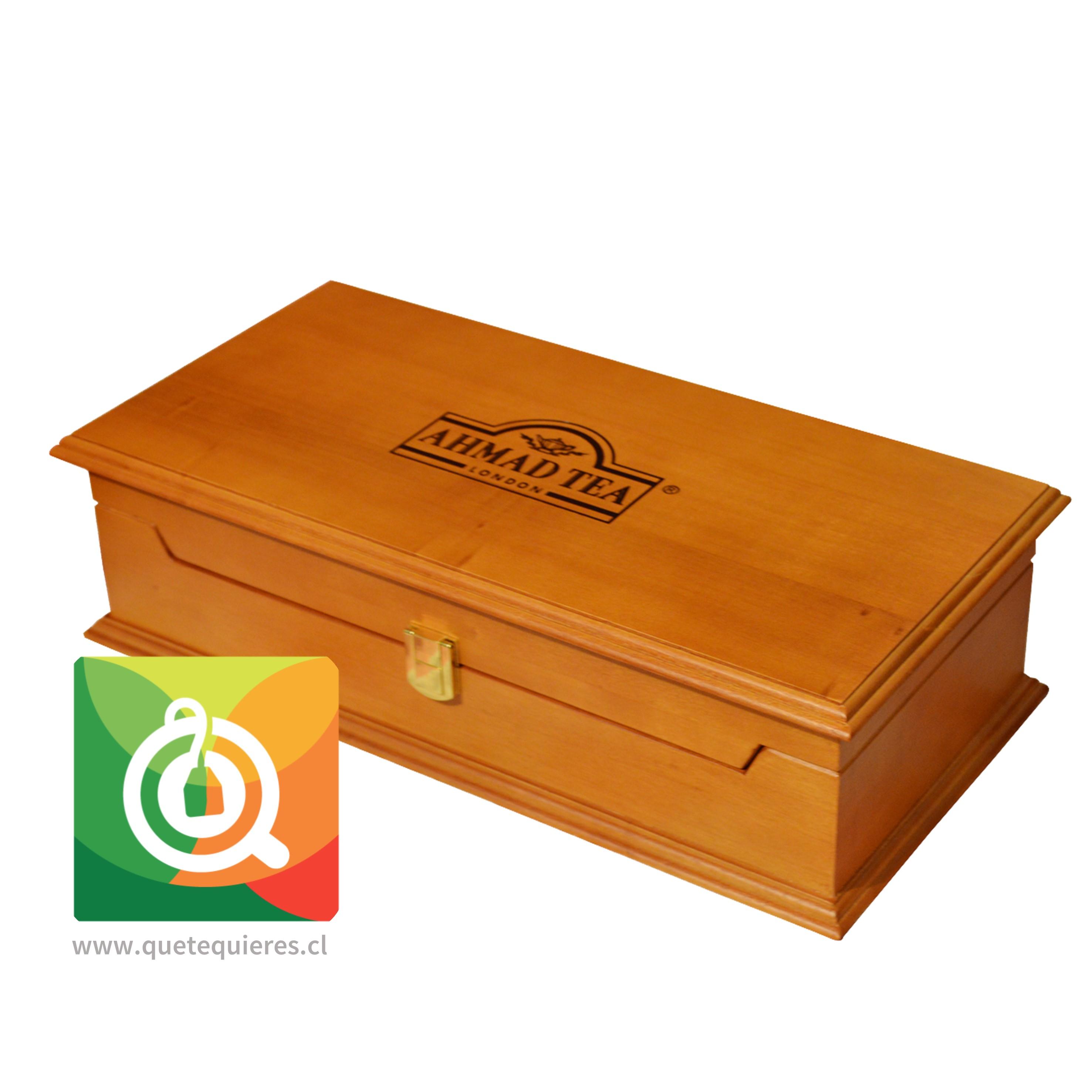 Ahmad Caja de Madera - Presentador de Madera 10 divisiones
